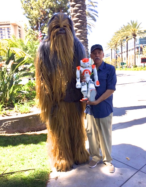 Bob with Wookiee Band Member.jpg